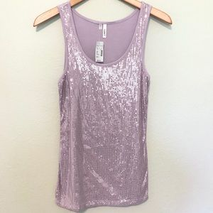 Maurices sequin tank top